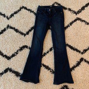 Petite Cut Size 24 Paige Bootcut Jeans